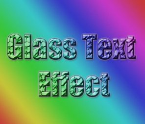 Learn How to Create a Broken Glass Text Effect in Photoshop