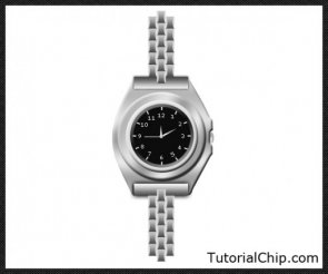 Creating a slick silver watch in photoshop