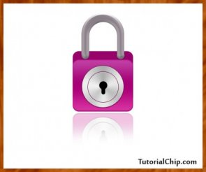 Create a wonderful lock icon in photoshop
