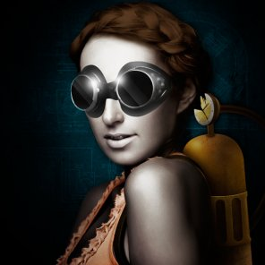 Create A Unique Steampunk Photo Manipulation In Photoshop