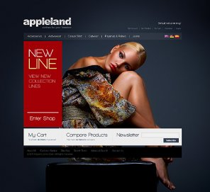Awesome Fashion Set of Templates and Web Design