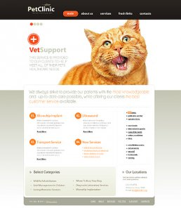 Showcase of  20+ Stunning Pets Websites and  Templates