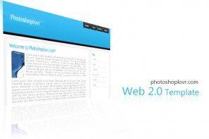 Creating a Web 2.0 Template Design