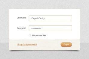How to Design a Clean and Beautiful Login Form in Photoshop