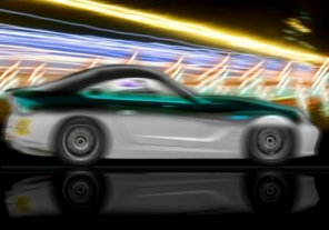 How to Create a Speed Lightning Car Photo in Photoshop