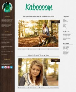 Design a Forest Inspired Tumblr Theme in Photoshop
