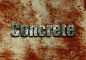 Create a Beautiful Concrete Text Effect