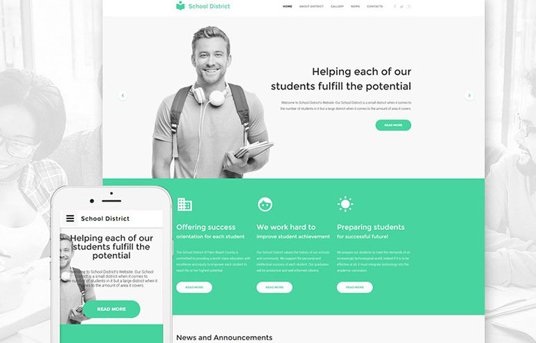 Green Management Company Joomla Template
