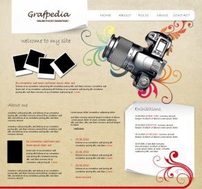 20+ Website Layouts Photoshop Tutorials