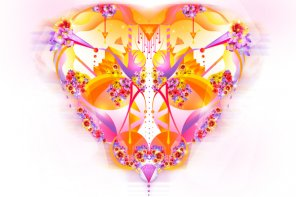 Create a Detailed Colourful Heart Illustration