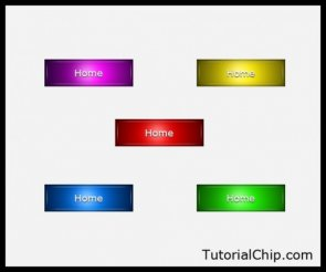 How to Create a Cool Glossy Button Using Photoshop CS5