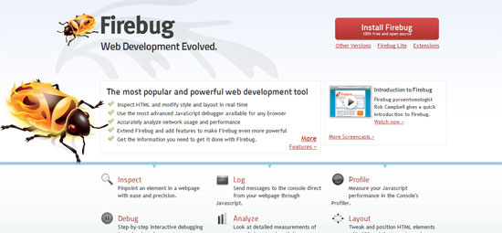 Firebug Guide for Web Designers