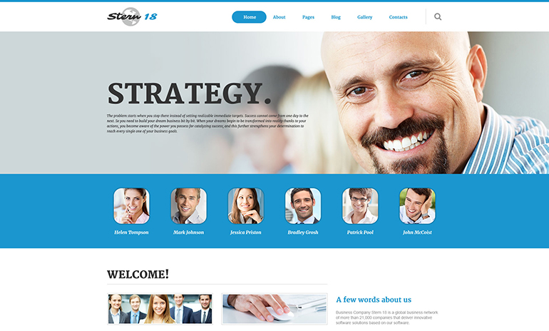 Business Responsive Joomla Template