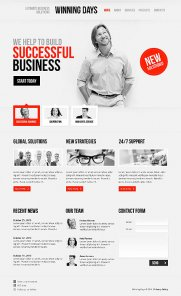 10 Fresh & Awesome Business Templates
