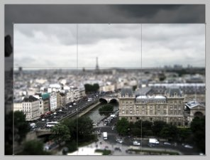 Urban Tilt-Shift Effect