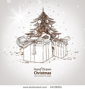 Christmas Greeting Cards and Illustrations