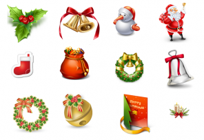 50+ Christmas Icons and Templates