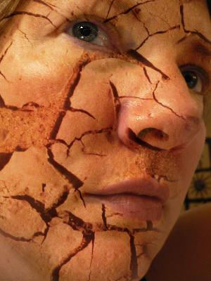 Cracked Skin Tutorial Photo Editing