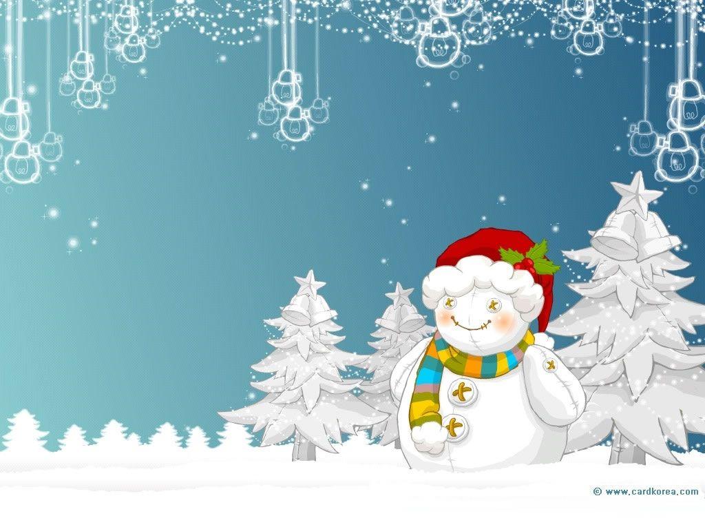 Christmas Snowman Wallpaper Backgrounds.