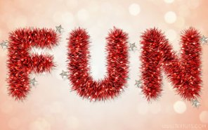 Bright Tinsel Text Effect