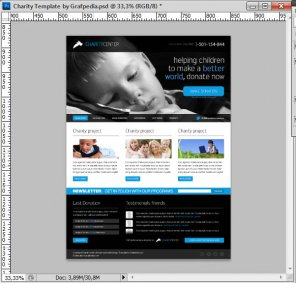 How To Design A Charity Web Layout