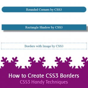 How to Create CSS3 Borders  CSS3 Handy Techniques