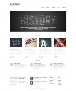 Design a Clean and Minimal Portfolio/Business Website Template in Photoshop