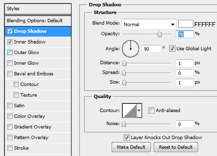 how to change text shadow colour in photoshop