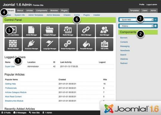 The Ultimate Joomla Admin Templates Guide | Joomla