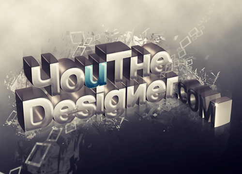 How to create colorful wooden 3d text.