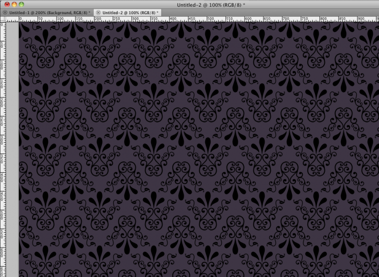 Seamless Ornamental Pattern in Photoshop
