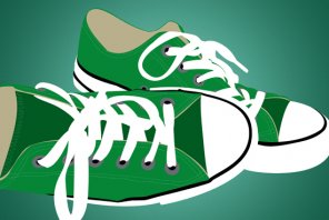 How to Vectorize a Pair of Sneakers in Photoshop