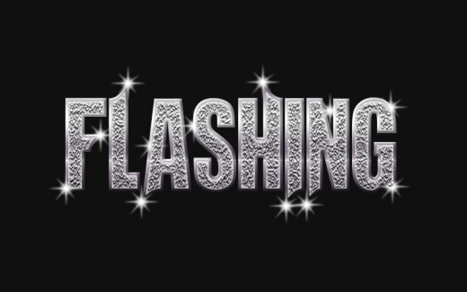 Design a Flashing Text Effect in Photoshop CS5