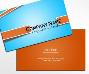 Designing a Business Card in Photoshop