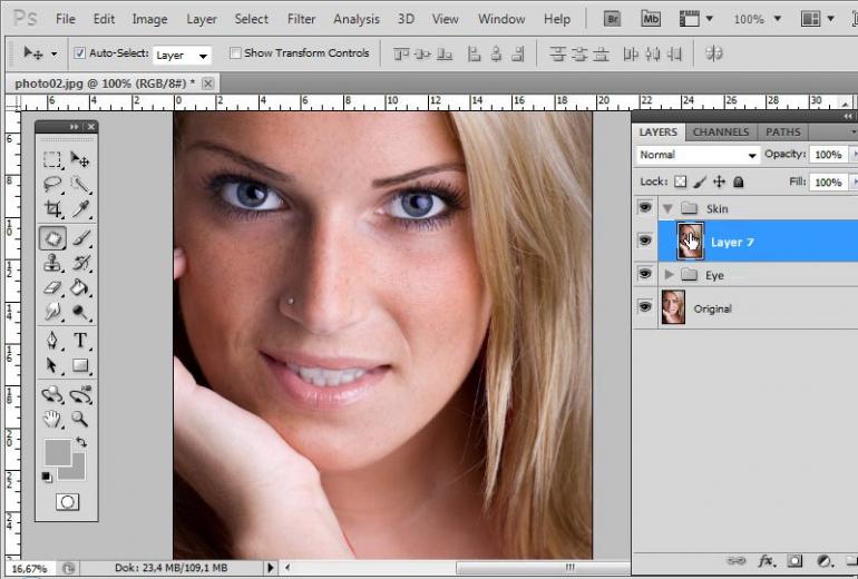 Как сделать фотографию матовой в фотошоп