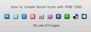 How to Create Social Media Icons with CSS3