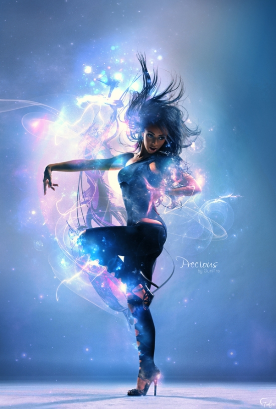 55 Just Gorgeous Dance Photo Manipulation Artworks (And Tutorials