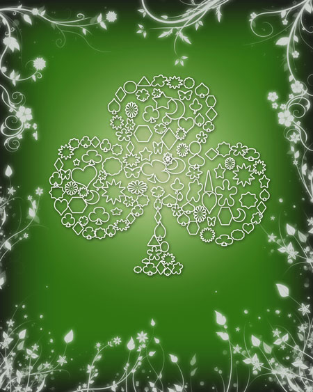 Saint Patrick Photoshop Tutorial
