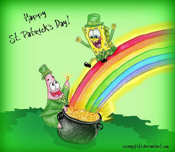 St Patrick Wallpaper: Wallpapers, Brushes And Photoshop Tutorials To Make This