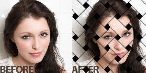 How To Create Ravishing Interweaving Photo-Strips Effect in Photoshop