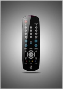 Create A Realistic TV Remote Controller In Photoshop