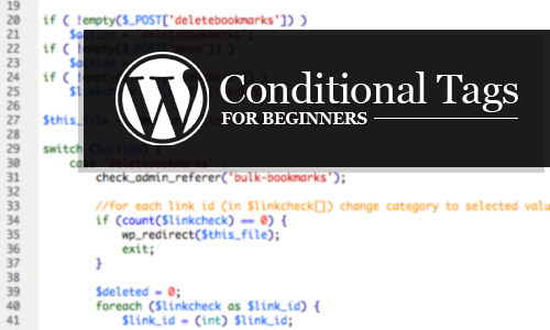 WordPress Conditional Tags