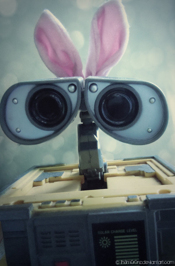 Happy Easter Wall-e