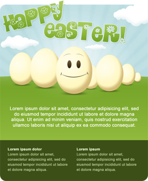 easter email template