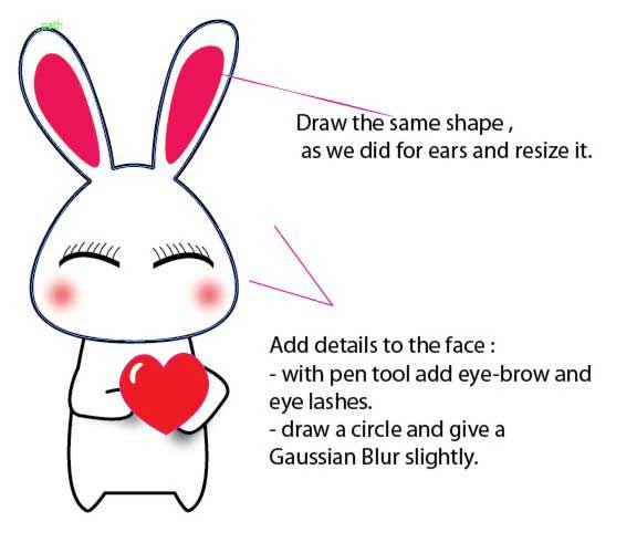 Adorable Bunny Adobe Vector Tutorial
