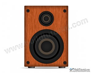 How to Create Wooden Speaker Vector in Photoshop