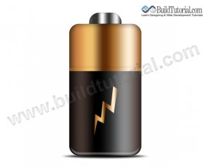 How to Create Battery Icon in Photoshop