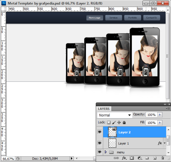Photoshop tutorial screen 06