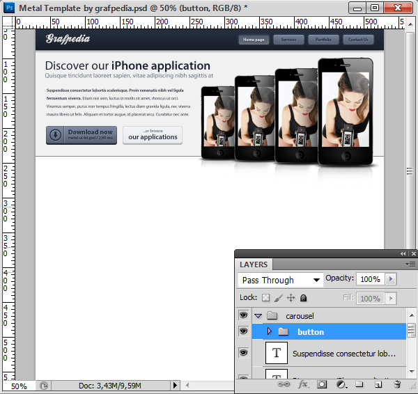 Photoshop tutorial screen 09