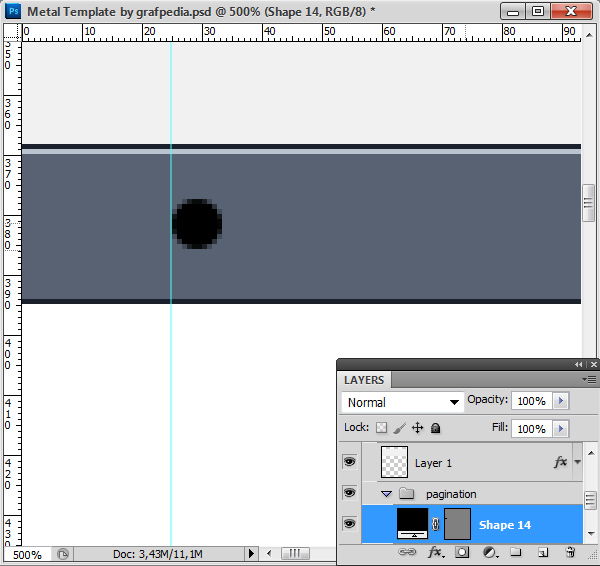 Photoshop tutorial screen 11